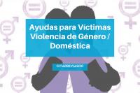 Ayudas para víctimas de violencia de género o doméstica