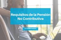Requisitos de la Pensión No Contributiva (Falta de Cotización)
