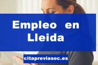 Empleo en Lleida