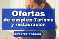 Empleo en Turismo y restauración