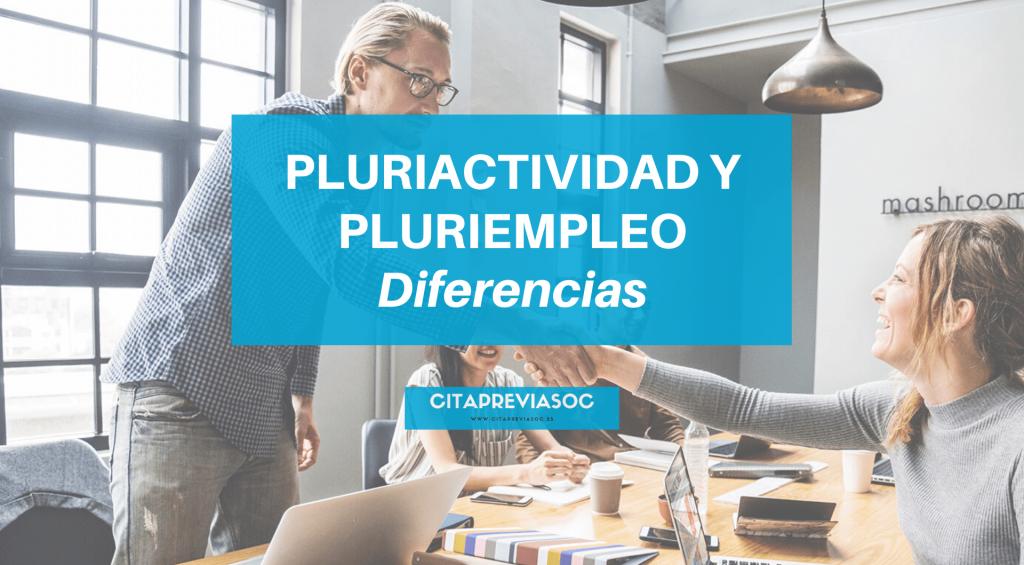 diferencias pluriactividad y pluriempleo