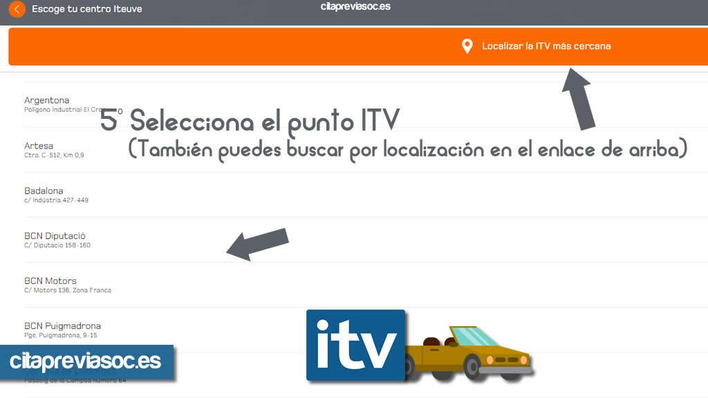 Cita Previa ITV en Barcelona