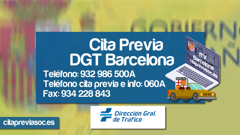Cita Previa DGT Barcelona