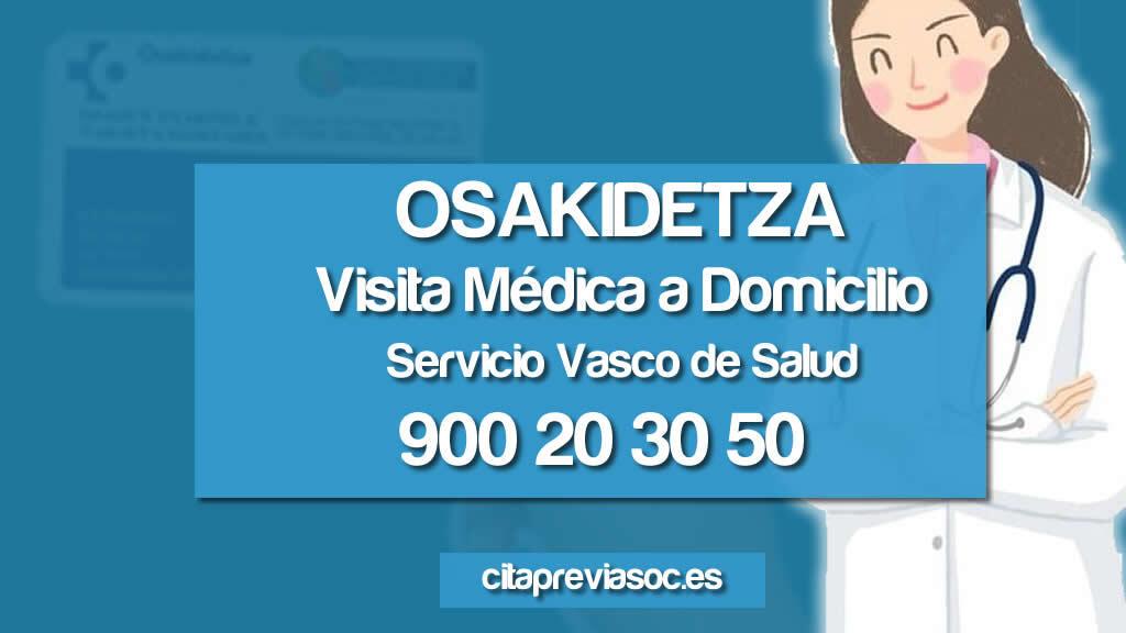 doctora a domicilio Osakidetza